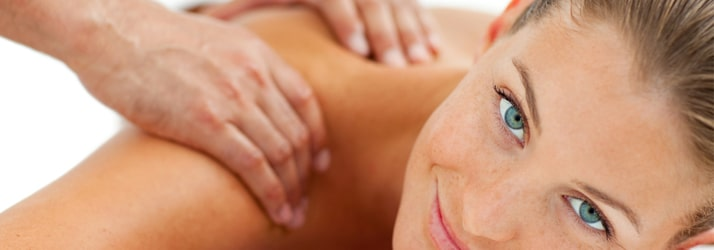 Woman getting chriopractic massage in Round Rock TX